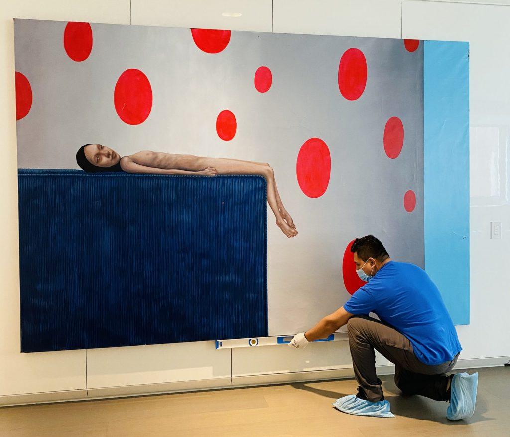 Marquez Fine Art - Exhibit Installations